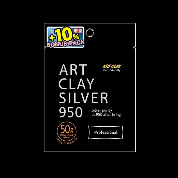 *Art Clay Silver 950 STERLING - 50g + 5g bonus
