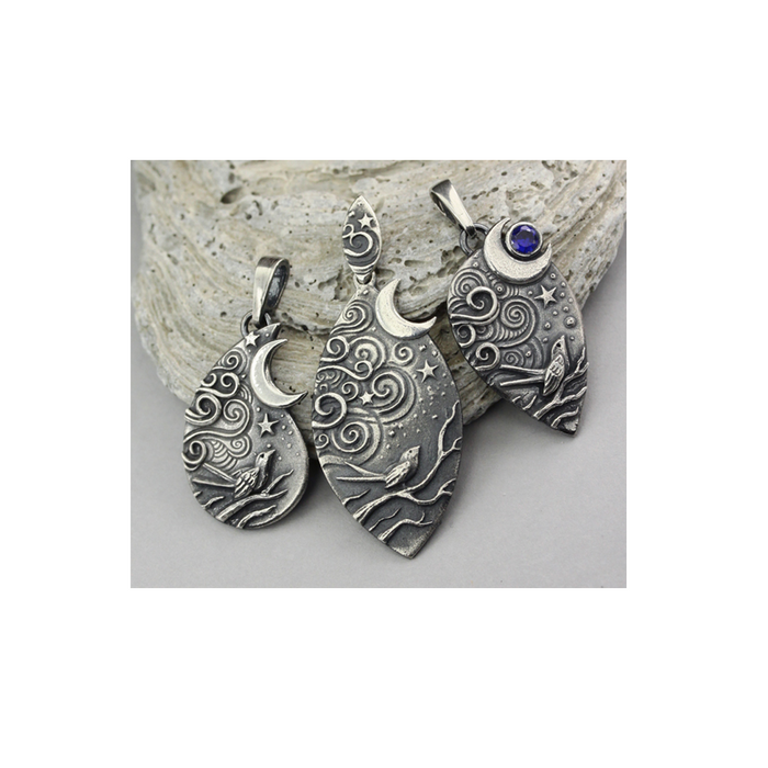 Anna Mazon Nightscene Pendant Masterclass - 1-day - 23rd Sep. 2017