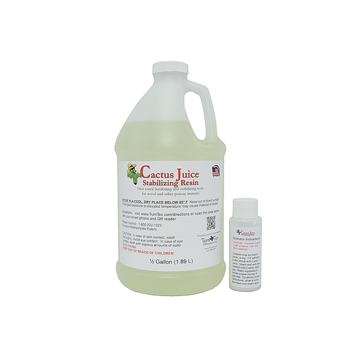Cactus Juice Stabilizing Resin - 1.89 Litres (1/2 Gallon)