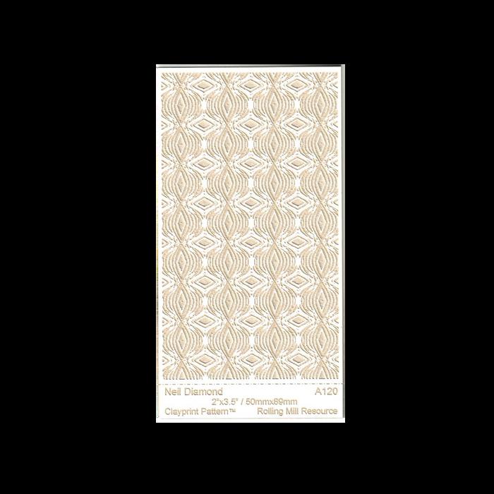 RMR Laser Texture Paper - Neil Diamond - 50 x 89mm