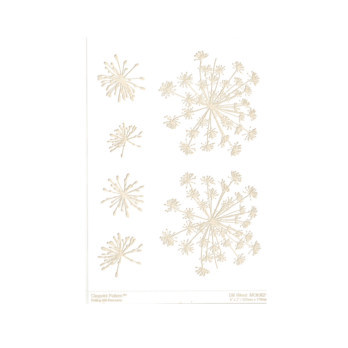 RMR Laser Texture Paper - Dill Weed - 127 x 178mm