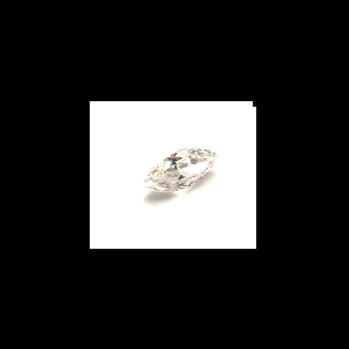 Lab Created Gemstone - White Marquise