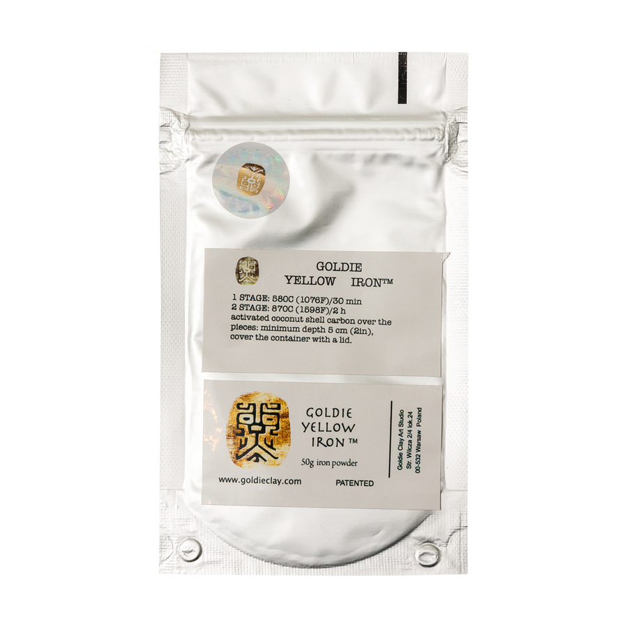 Goldie Yellow Iron Clay - 100g
