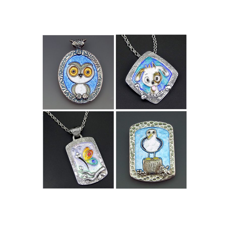 Joy Funnell Enamelled Characters Masterclass -  2-Day - 17th-18th June 2017