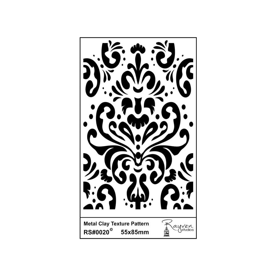 RS Laser Texture Paper - Damask