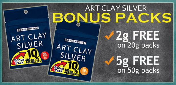 Get extra Art Clay for Free in these Bonus Packs.