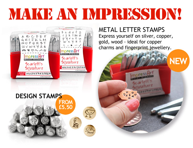 Metal stamps impression stamping