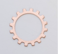 Copper Blank - Open Cog - 19mm