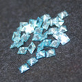 Lab Created Gemstone - Aquamarine - Square - 5x5mm