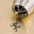 Leafy Twig 6mm Metal Stamp