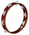 MEINL Wood Tambourine Aluminum Jingles