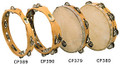 "CP Tambourine with Head, 8"" Single Row Jingles CP378"