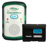 Quiet Fall Monitor with Wireless Signal to Pager-Monitor Only