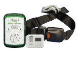 Fall Alarm to Wireless Pager with Easy Release Seat Belt with Push Button