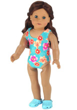 "Sophia's Tank Style Doll Bathing Suit Fits 18"" Dolls"