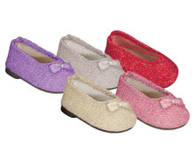 Glitter Dress Shoe Fits 18 Inch American Girl Doll Shoes