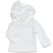 "Sophia's White Long Sleeve Hooded T-Shirt fits 18"" Dolls"