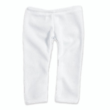 "White Leggings For 18"" Dolls"