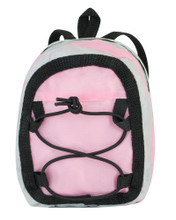 "Sporty Nylon Backpack For 18"" Dolls"