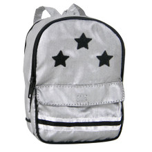 Silver Backpack Fits 18 Inch Dolls