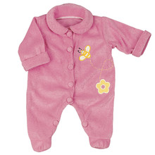 "Pink Bumblebee Terry Doll Sleeper For 15"" Baby Dolls"