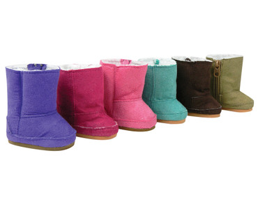 Sophia's Suede Ewe Boots Fit  18 Inch Dolls
