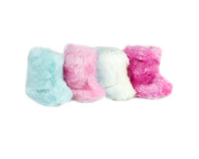 Fur Boots Fits 18 Inch American Girl Doll Shoes