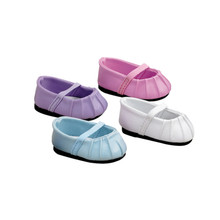 Baby Doll Ballet Flats Fits 18 Inch American Girl Doll and 15 Inch Dolls