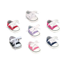 Canvas Sneakers Fit 15 Inch Baby Dolls