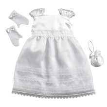 """Sophia's White Debutante Ball Gown & Accessories Fits 18"""" Dolls"""
