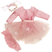 "Ballet Warm-Up Outfit Fits 18"" American Girl Dolls"