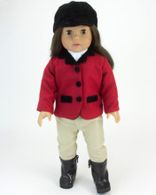 "Sophia's Riding Outfit for 18"" Dolls"