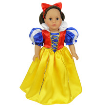 "Fairy Tale Costume Fits 18"" American Girl Dolls"