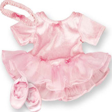 Ballet Outfit, Slippers, & Headband 15 inch Baby Dolls Fits Bitty Baby American Doll Clothes
