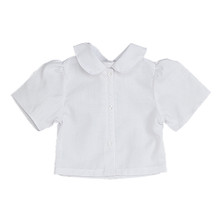 "White Blouse w/ Peter Pan Collar fits 18"" American Girl Dolls"