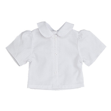 """Sophia's White Blouse with Peter Pan Collar fits 18"""" Dolls"""