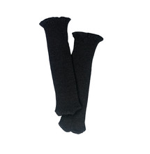 Black Knit Knee-High Socks Fits 18 Inch American Girl