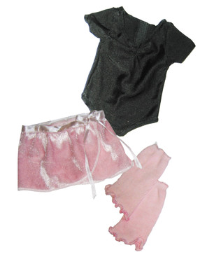 "Sophia's Ballet Leotard, Skirt, & Leg Warmers Set Fits 18"" Dolls"