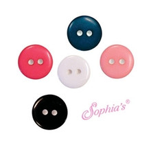 11mm Buttons-12 pieces per bag