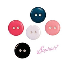 11mm Buttons-48 pieces per bag for 18 Inch American Doll Clothes
