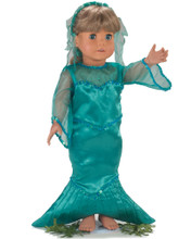 Sophia's Mermaid Costume For 18 Inch Dolls