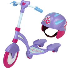 "Mini Scooter & Helmet Set Fits 18"" Dolls"