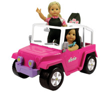 "4x4 Beach Cruiser Fits 18"" Dolls"