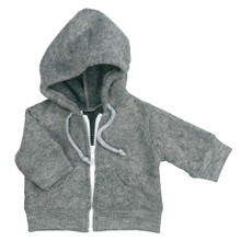"Gray Fleece Hoodie Separate Fits 18"" American Girl Dolls"