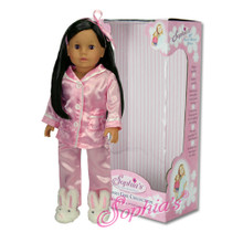 "Sophia's 18"" Black Hair Doll- Boxed"