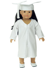 "18"" Doll Graduation Gown with Cap - LOW STOCK"
