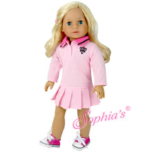 Pink Polo Dress with Crown Logo