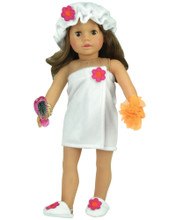 "Sophia's Towel Wrap Shower Set for 18"" Dolls"