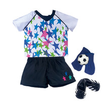 "Soccer Star Set Fits 18"" American Girl Dolls"