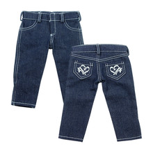 "Sophia's Denim Skinny Jeans with Heart Pocket Detail fits 18"" Dolls"